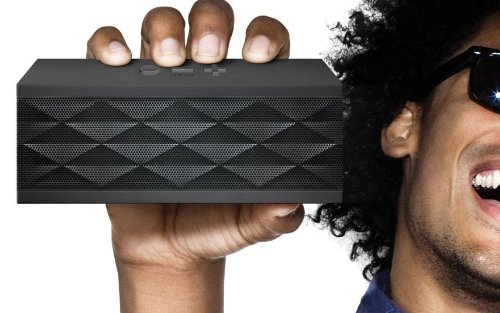 Jawbone Jambox Wireless Bluetooth Portable Speaker With Car Charger And Carring Case - Black Diamond