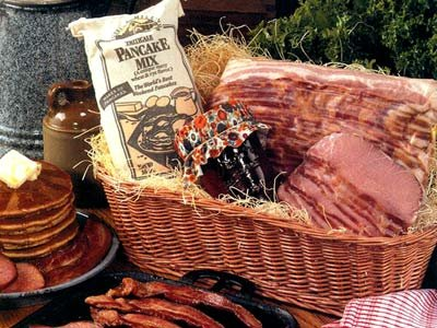 Wisconsin Breakfast Holiday Gift Basket