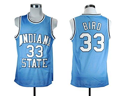 finest selection a4bd3 dbf1e larry bird college jersey