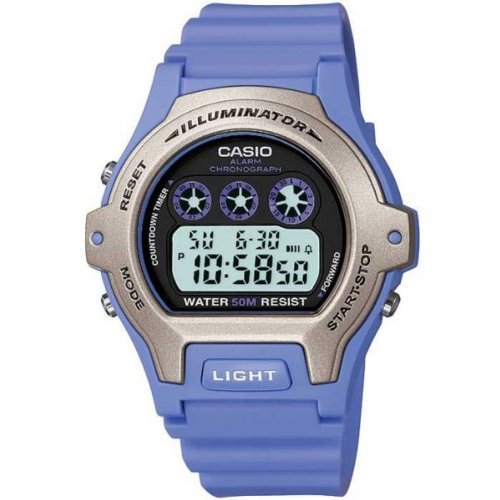 Casio Blue Ladies Digital Watch - LW-202H-6AVEF