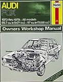 1973-1979 Haynes Repair Manual - Audi Fox