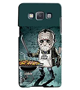 Omnam Mom Loves Cooking Boy Printed Designer Back Cover Case For Samsung Galaxy A7