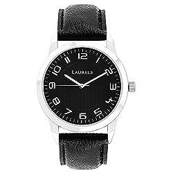 Laurels Aspire 3 Analog Black Dial Mens Watch - Lo-Asp-302