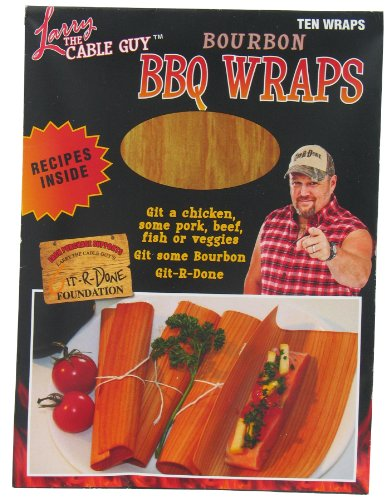 Larry The Cable Guy Ltcgbour Bourbon Flavored BBQ Wraps