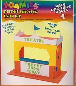 Foamies Puppet Theater Foam Kit by Foamies
