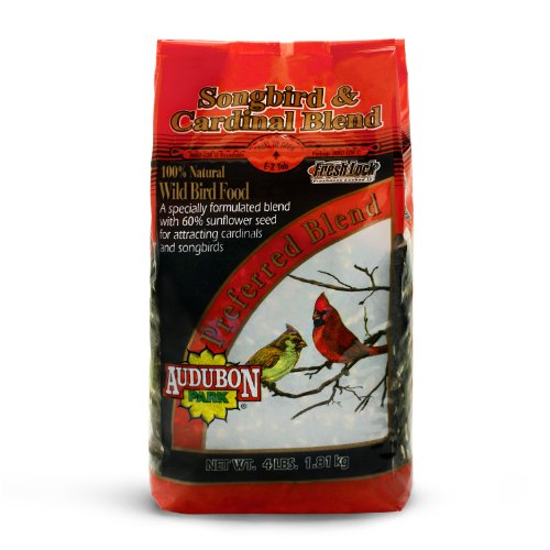 Audubon Park 10300 Premium Cardinal Songbird Blend, 4-Pound Bag