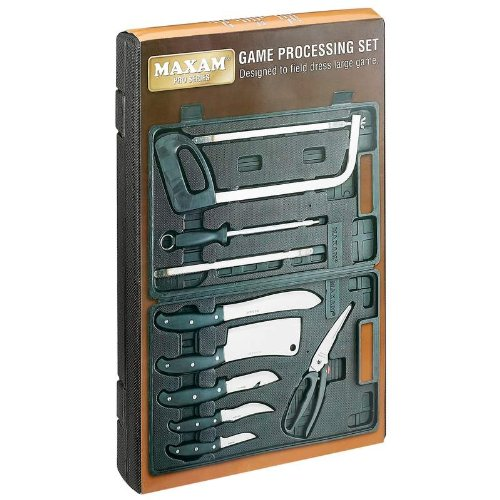 Brand New Maxam® 13Pc Game Processing Set