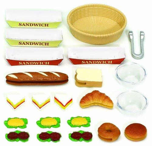 sylvanian families   setfor sandwiches