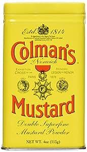Colman's Mustard Powder, 4 Ounce