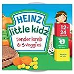 Heinz Little Kidz Tender Lamb with 5...