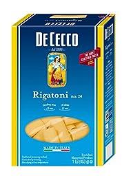 De Cecco Pasta, Rigatoni, 16 Ounce (Pack of 5)