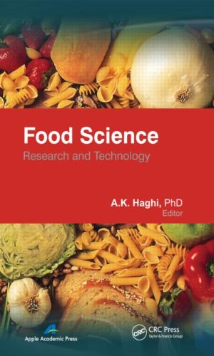 Food Science: Research And Technology