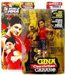 "Round 5 World of MMA Champions UFC Series 4 Action Figure Gina ""Conviction"" Carano"