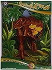 Santoro Interactive 3-D Swing Card,  Dinosaur Greeting Card