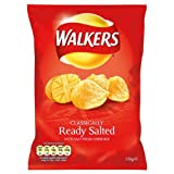 Walkers Ready Salted Crisps 12 x 150gram