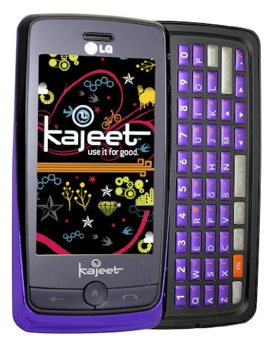 Lg Rumor Touch Prepaid Phone, Purple (Kajeet)