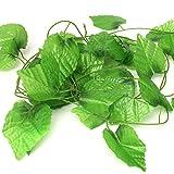 2.8m Artificial Grape Leaf Plant Green Garland Home Garden Holiday Decoration