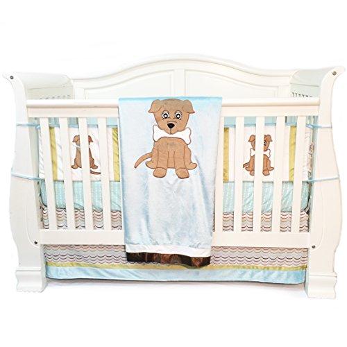 One Grace Place Infant Set, Puppy Pal Boy, 4 Piece