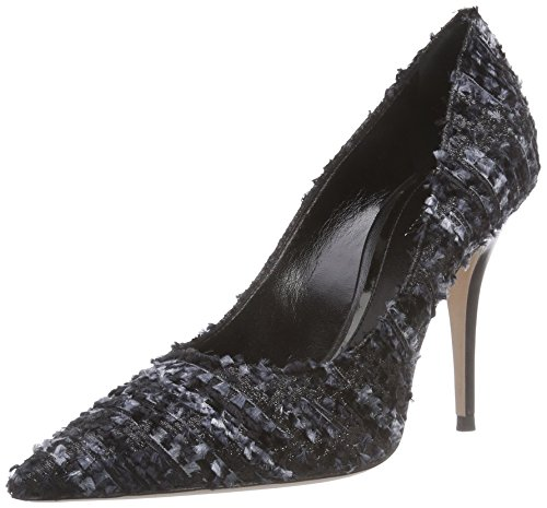 Sebastian S6700T F/2, Decolleté chiuse donna, Nero (Schwarz (tweed brillante nero)), 41