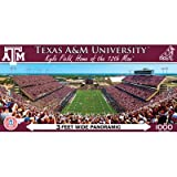 MasterPieces NCAA Texas A&M Aggies Stadium Panoramic Jigsaw Puzzle, 1000-Piece at Amazon.com