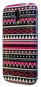 Samsung Galaxy S4 Mini i9190 Vintage Aztec Tribal Designer High Gloss Coque Case plastique Retour Coque-Ref1