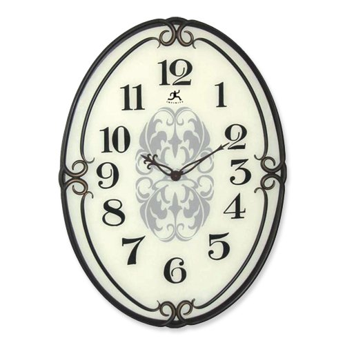 Pristine- Glass Wall Clock