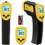 Etekcity Lasergrip 774 Infrarot Thermometer Laser-Pyrometer Infrarotmesspistole, - 50 bis + 380 °C, 2 Jahre Garantie, Blaue Hintergrundbeleuchtung, °C/ °F Umschaltung, ink. Batterie, Zertifikat: FDA/FCC/CE/RoHS