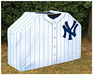 Buy Team Sports America MLB0150-706 New York Yankees Grill Cover by Team Sports America