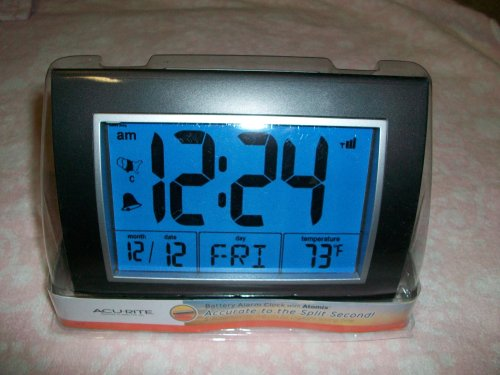 Chaney Instrument 13131 Atomix Dartmouth Desktop Alarm Clock