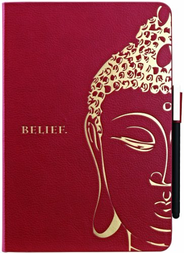 OZAKI Ocoat Wisdom Buddhist Scripture for iPad mini Red