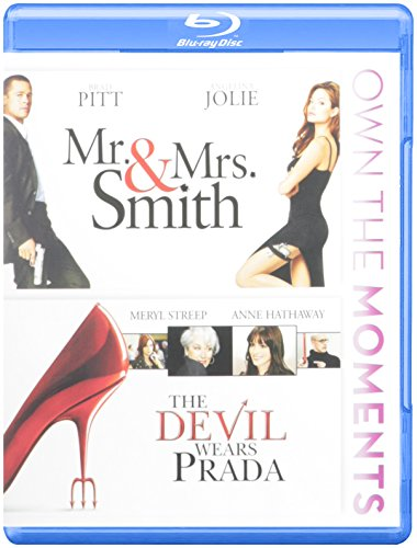 Mr/s Smith+devil We Bd Df-sac [Blu-ray]