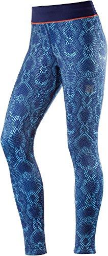 Tao Sportswear W' s Leggings da uomo pantaloni lunghi da donna, Donna, W's Long Tights, Snake Print, 34