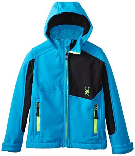 Spyder Boys Patsch Jacket, X-Large, Electric Blue/Black/Bryte Green