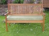 """Garden Bench Cushion - 60"""" x 18"""" x 3"""" Olive Green"""