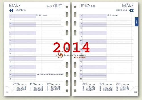 Brunnen Business Tageskalendarium 1Tag=1Seite A5 2014 Kalender
