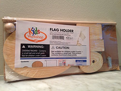KIDS WORKSHOP - FLAG HOLDER - 1