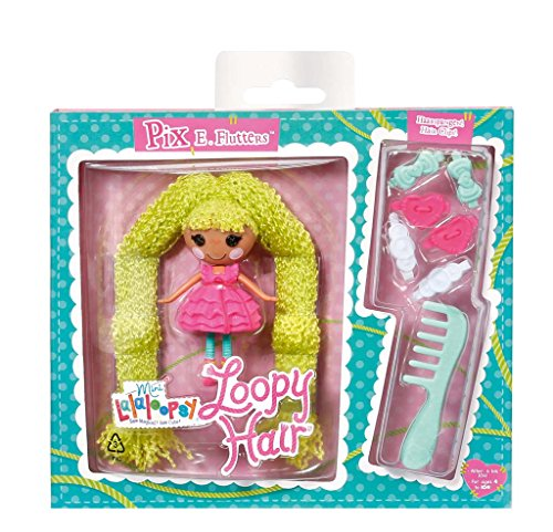 Lalaloopsy Mini Loopy Hair Pix E. Flutters Doll - 1