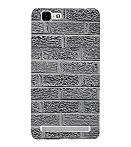 Classic Rock Pattern 3D Hard Polycarbonate Designer Back Case Cover for VIVO X5 MAX