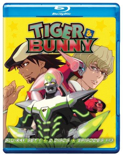 TIGER&BUNNY  タイガー&バニー 北米版BD-BOX set1[第1話-第13話] [PS3再生OK][import]
