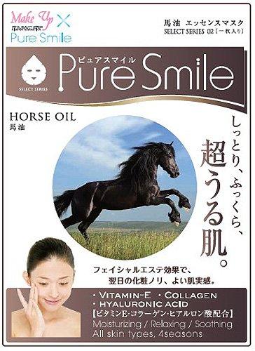 Pure Smile シートマスク 30枚セット 馬油