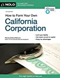 img - for How to Form Your Own California Corporation by Anthony Mancuso Attorney (2015-02-27) book / textbook / text book