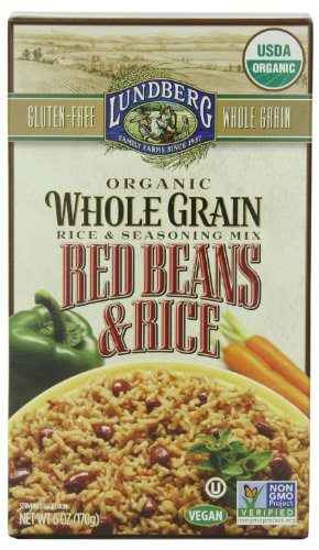 Lundberg Organic Whole Grain Rice and Red Beans, 6 Ounce (Pack of 6) (Lundberg Rice Red compare prices)