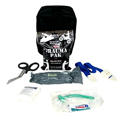 Tactical First Aid Kit: Ever Ready First Aid Meditac Tactical Trauma IFAK Kit with Trauma Pack Quickclot and Israeli Bandage in Molle Pouch from Ever Ready First Aid