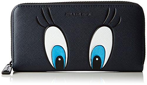 Paul & JoeZipped Wallet - Portafogli Donna , Blu (Blau (Marine 03 03)), 19x12x2 cm (B x H x T)
