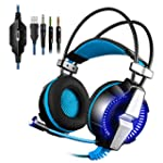 PS4 Gaming Headset Kingtop Xbox One L...