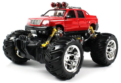 Cadillac Escalade Ext Electric Rc Truck 1:16 Scale Off Road Monster Rtr Ready To Run (Colors May Vary)