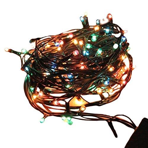 Decorazione di Natale Luci di Natale 4m luce di festa LED lampeggiante luci della festa colorata lampadine albero di Natale - Albero Di Natale Della Luce Di Notte