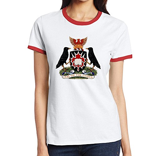 Carleton University Logo Mascot Comfortable Tee Shirts Womens