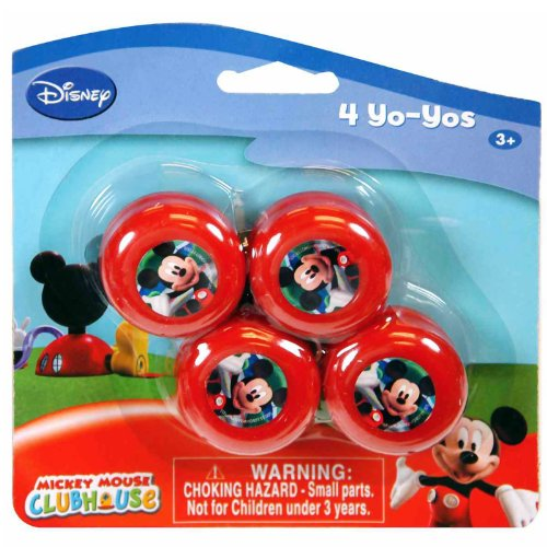 Mickey Mini Yo-Yo's (1) Party Accessory - 1