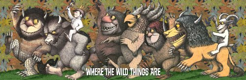 Where the Wild Things Are King Max Classic Fantasy Children Movie Film Poster Print 12